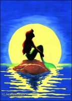 the little mermaid by Initta