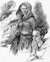 Anakin and Amidala the Ep. III by Loye