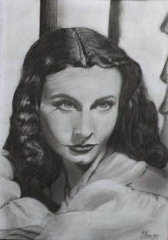 Vivien Leigh by irahelena