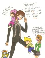 Despicable Atheism by cartoonchick123