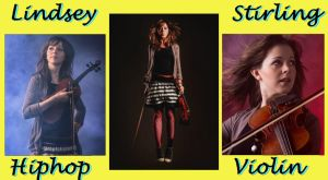 Lindsey Stirling - Hiphop Violin Girl YELLOW 1024x by SeraphSirius