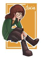 Fanart - Daria Morgendorffer by ben-ben