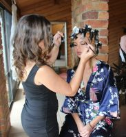 getting makeup done by angel-brittony-adams