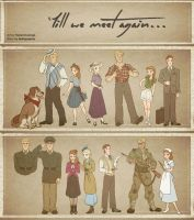 Till We Meet Again - Character Outfits by xxMeMoRiEzxx