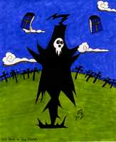 Lord Death At The DWMA by Mysterious-Master-X