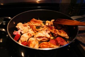 Spicey Pan Fried Rabbit by DragonoftheEastblue