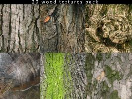 20 Wood Textures Pack by Mish-A-Man