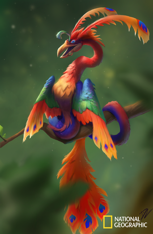 The Faux Phoenix Final Concept by TeaDino