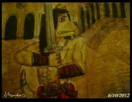 CONNAN the barbarian by tigrisssilvery