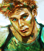 Finnick by chanso