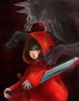 Little Red Riding Hood by Turborg