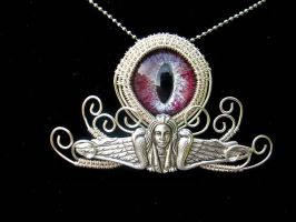Wire Wrap - Egyptian Snake Goddess Ancient by LadyPirotessa