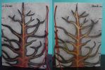 Handmade Sketchbook Front and Back by Naggeela