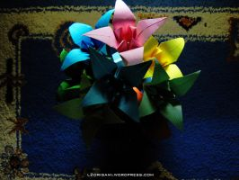 Origami Fall Challenge 7 (a) by DarkUmah