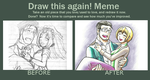 Draw this again! Meme: Hughes and Gracia by KN-KL