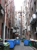 Melbourne Alley Stock by prudentia