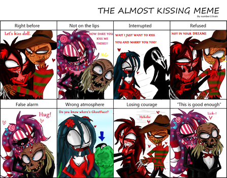 Almost Kissing Creepy's by Fun-Time-Is-Party