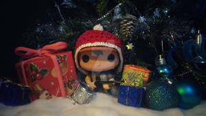 Holiday Funko Pop Figure 51 by iAmAneleBiscarra