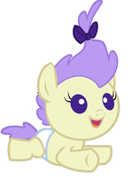 Cream Puff's New Hairstyle by 3D4D