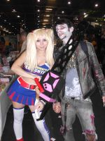 Juliet Starling and a ZOMBIE! by ImaginaryRoses