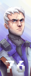 Soldier 76 Banner by AkajiFlare
