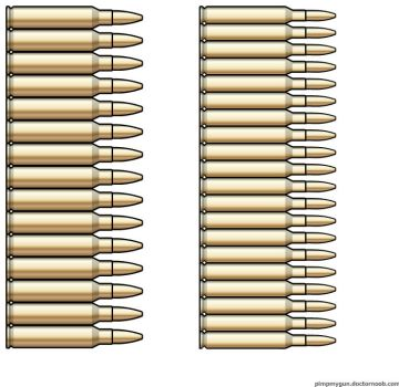 5.56x45mm NATO - 4x45mm NATO Comparison by Scarlighter