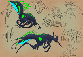 Needlemouth Concept by TheCau