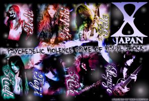 X-Japan Wallpaper 5 by hide-loves-X