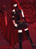 Ruby Rose-A Fusion to Remember by Legacyhunter