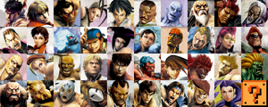 Super Street Fighter 4: AE 100x100 Icon Pack by xXKyraRosalesXx