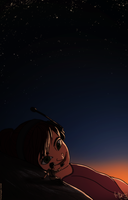 stargazing ('Epic' spoilers) by tugaMaggie