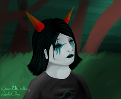 Terezi Pyrope by wwretchedwwaltzing