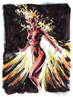 Rachel Summers - Phoenix by stokesbook