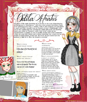 Ever After High: Odila Atratus by Fireflowermaiden