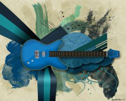 Guitar Graphic by Qiutian