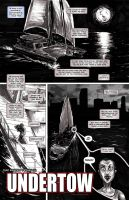 UNDERTOW page 1 - ZOMBIE YEARS no.6 by FWACATA