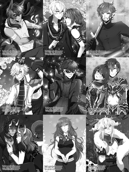 Special CM - BW Screentone Batch 2 by Wanini