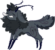 Briarling Design -- Closed Auction + ICON by KitaSpecies