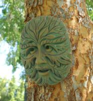 The Green Man by Leppardra