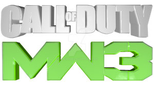 Call Of Duty MW3 3D Logo by RPGgirl by Msbermudez