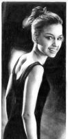 Natalie Portman 5 graphite by Ethan-Carl