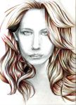 red head portrait by Holly-Apple