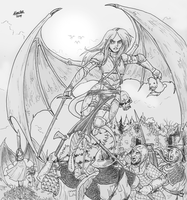Succubi Knight by Shabazik