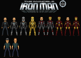 Iron Man:Extremis. (2 Years Later) by Hernan20X