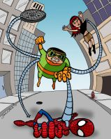 Spider-Man vs. Doc Ock by brodiehbrockie