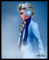 Modern-day Elsa by henryruss