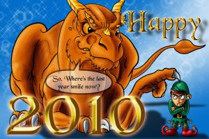 Happy new year 2010 by TyrannRex