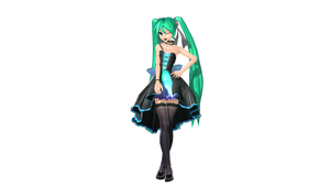 MMD DT IYDD Miku Preview by willianbrasil