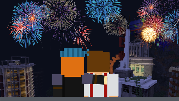 Happy late New Years! by Creeperrick