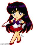 03. Sailor Mars by amethyst-rose